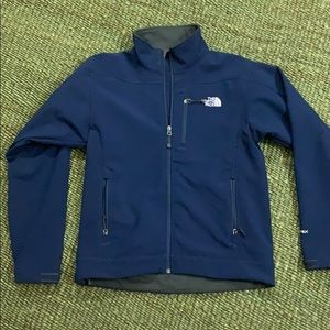 The Northface Navy Fleece Lined Jacket
